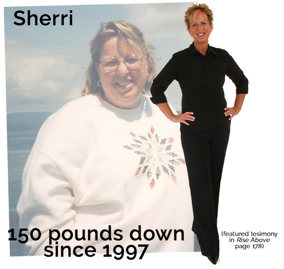 Sherri Lomas - Before and After Weigh Down