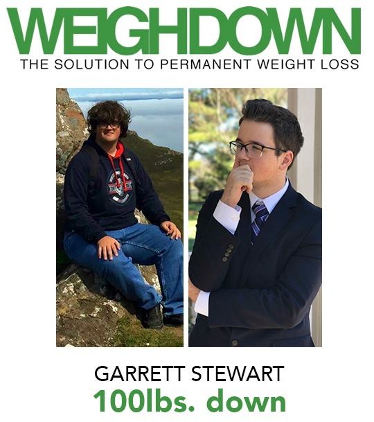 Weigh Down Before & After Garrett Stewart