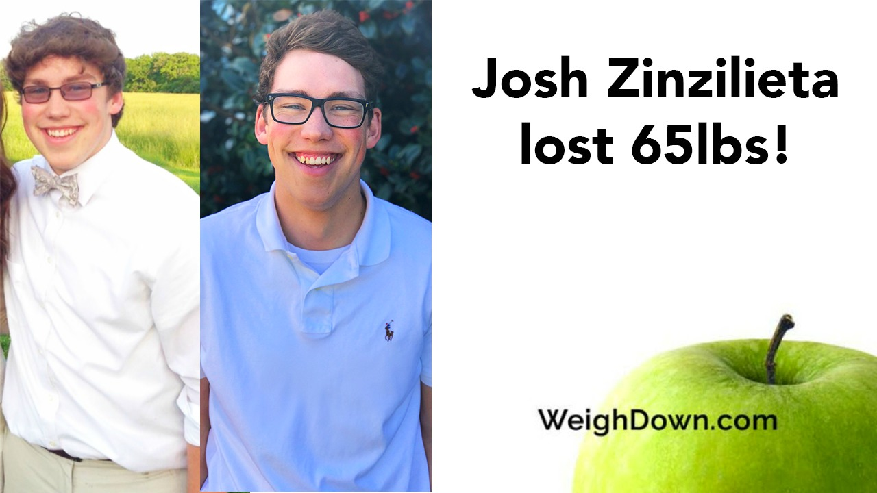 Josh Zinzilieta - 65 Pound Weight Loss