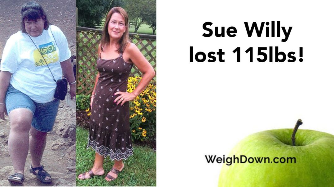 Weigh Down Testimony - Sue Willy - 115 Pound Weight Loss