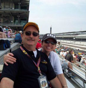 Glen and Angel - Indy 500