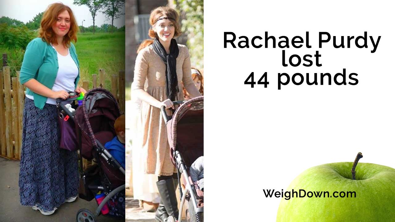 Weigh Down Testimony - Rachael Purdy - 44 Pound Weight Loss