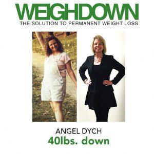 Weigh Down Testimony - Angel Dych