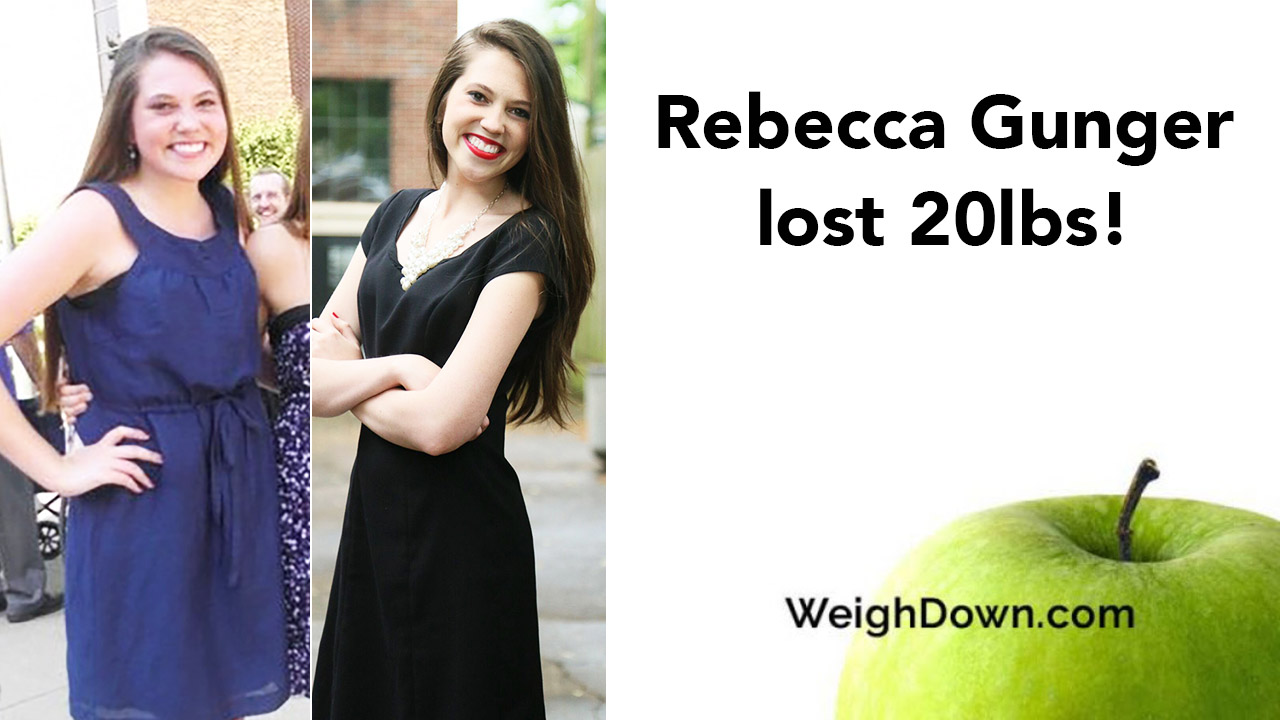 Rebecca Gunger - 20 Pound Weight Loss