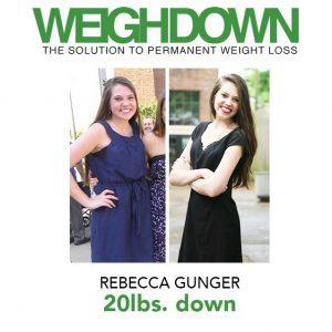 Rebecca Gunger - 20 Pound Weight Loss