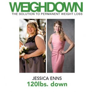Jessica Enns - Before-After Weigh Down