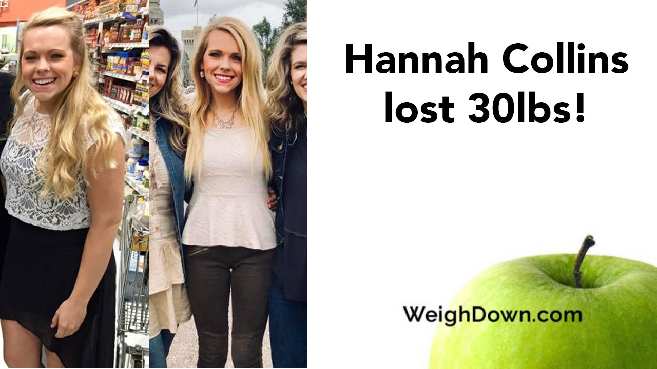 Hannah Collins - Before and After Weigh Down