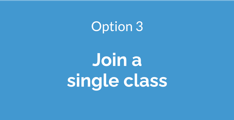 Join a single class